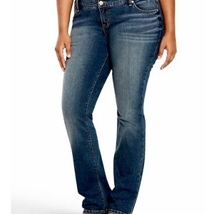 Torrid Barely Boot Jeans Vintage Stretch Sz 10R